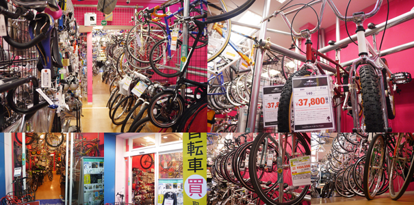 サイクルパラダイス 高円寺店(東京都・杉並区)