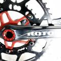 【バイクコンポーネント入荷特集】ローター(ROTOR)クランクセット他