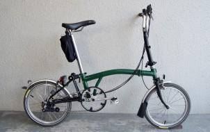 ブロンプトンM6L 6速 2010年モデル グリーン 折りたたみ自転車買取実績