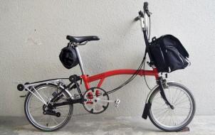 ブロンプトン BROMPTON M6L 6速 2011年モデルの自転車買取実績